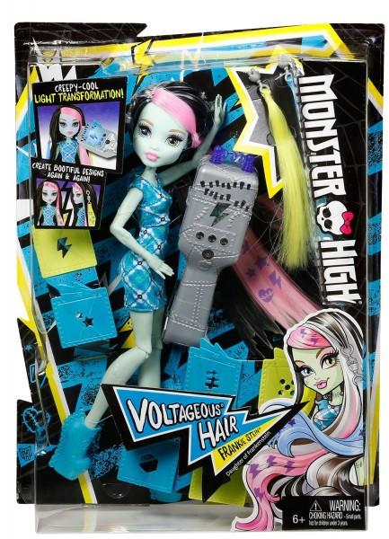 Кукла Фрэнки Штейн - Высоковольтные волосы, Школа Монстер Хай DNX36 - фото 2