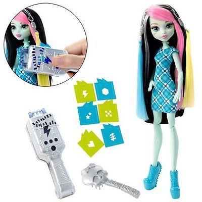 Кукла Фрэнки Штейн - Высоковольтные волосы, Школа Монстер Хай DNX36 - фото 4