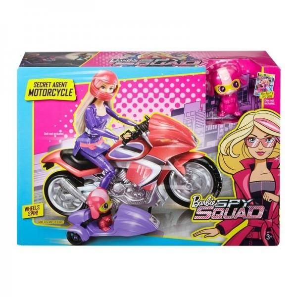 Мотоцикл секретного агента Barbie