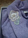 Подарок для женщины. Банный махровый халат, фото 3