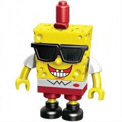 """Mega Bloks 94615 (CND19) """"SpongeBob SquarePants"""" Гонщики на лодках в асс. (в тубах)"""