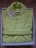 Подарок для женщины. Банный махровый халат, фото 2