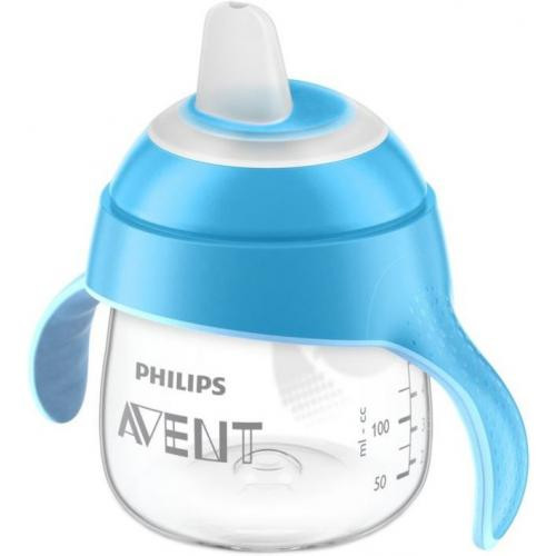 Чашка-непроливайка Avent с носиком 6 мес+ с ассортименте