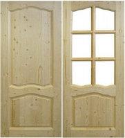 Филенчатые двери для бани и сауны
