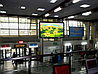 Реклама экрана на вокзале