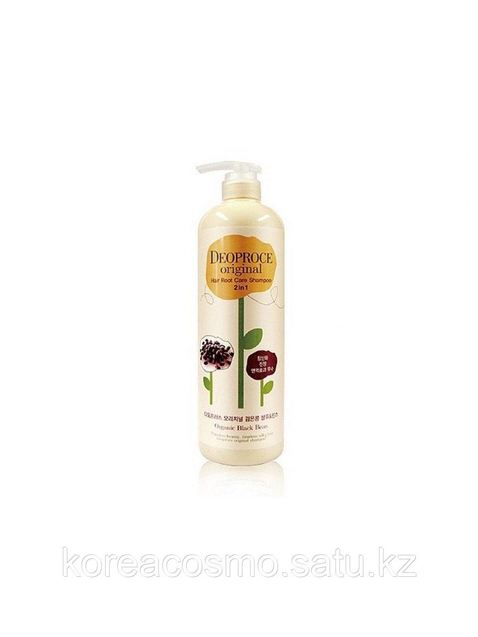 Deoproce Шампунь черные бобы 2в1 Hair Root Shampoo 2in1 Black Bean