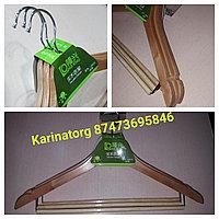 Плечики деревянные с подвеской ( бренд - 3)