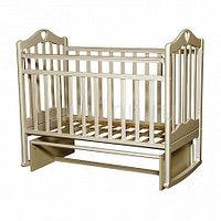 """Кровать детская Антел """"Каролина-3"""", (слоновая кость)"""