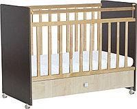 """Кровать детская Фея """"700"""", (венге-клён)"""