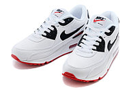 "Кроссовки Nike Air Max 90 Essential ""White Red Black"" (37-44), фото 3"