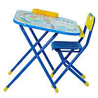 """Трансформируемый столик """"Дошкольник"""" - Блокнот, синий"""