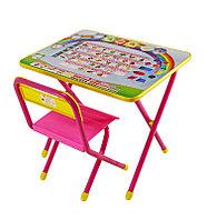"Набор мебели ""Дэми"" №1 - ""Алфавит"", розовый, фото 1"