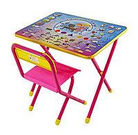 """Набор мебели """"Дэми"""" №1 - """"Электроник"""", розовый"""