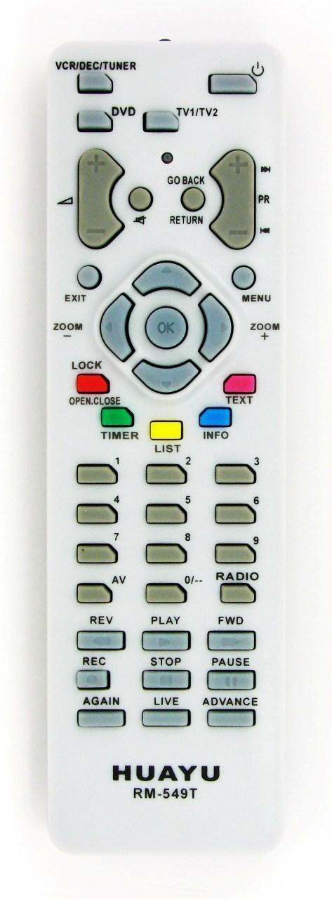Пульт для телевизора + DVD THOMSON (HUAYU) RM-549T универсальный