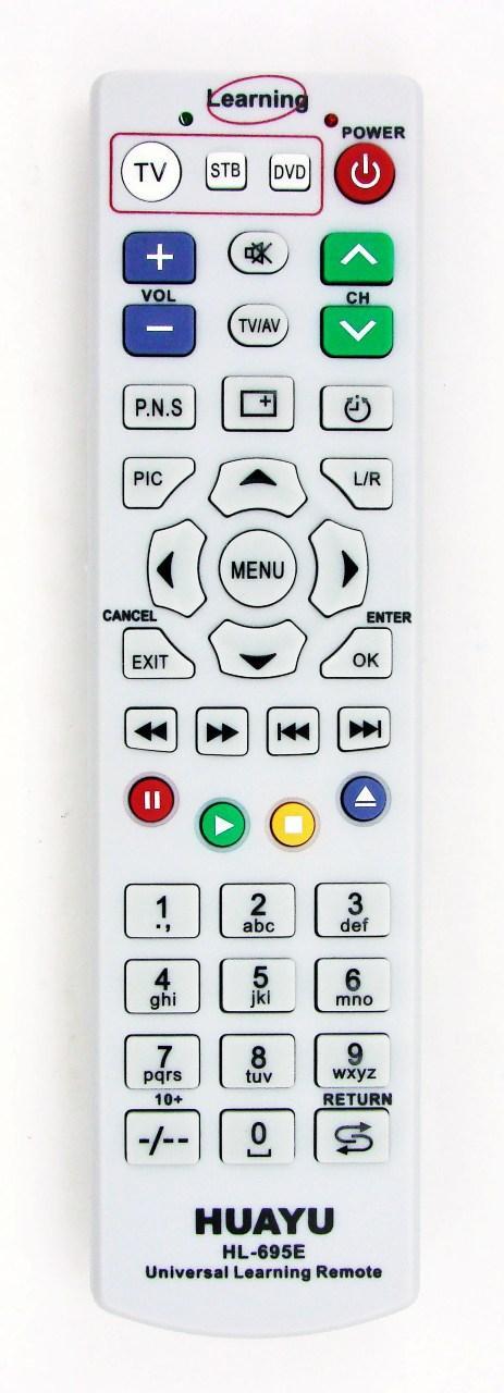 Пульт для телевизора Универсальный TV HUAYU HL-695E обучаемый