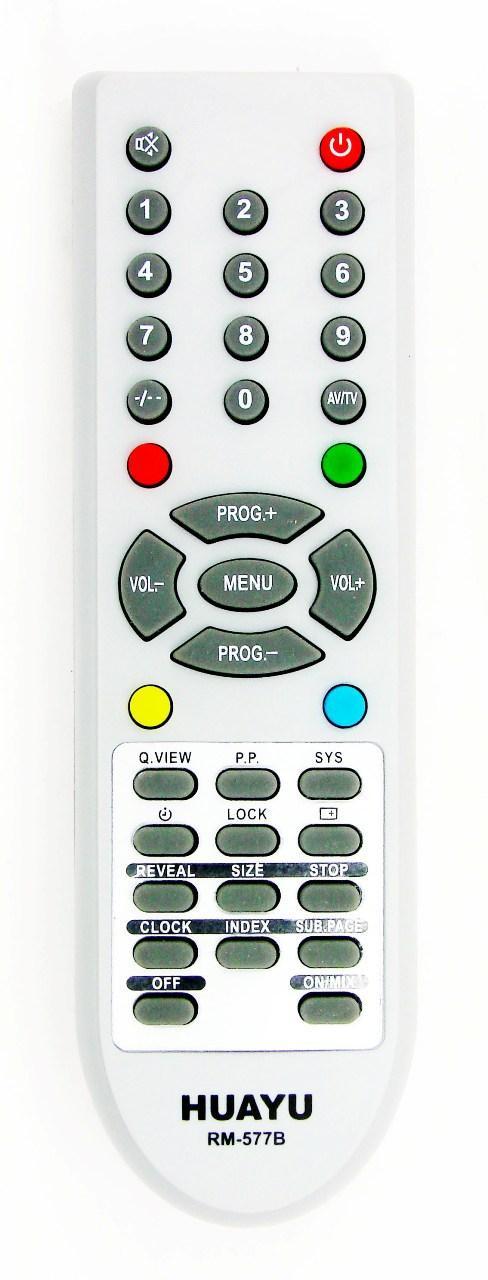 Пульт для телевизора AKIRA (HUAYU) RM-577B универсальный