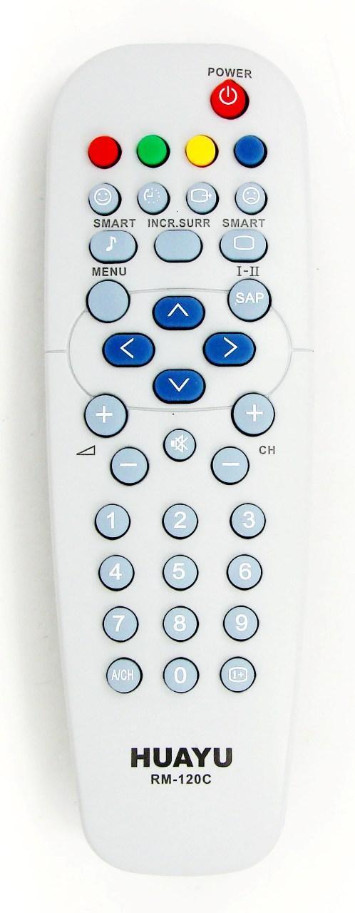 Пульт для телевизора PHILIPS (HUAYU) RM-120C универсальный