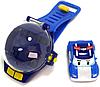 """Часы с мини-машинкой на ИК-управлении """"Робокар Поли"""""""