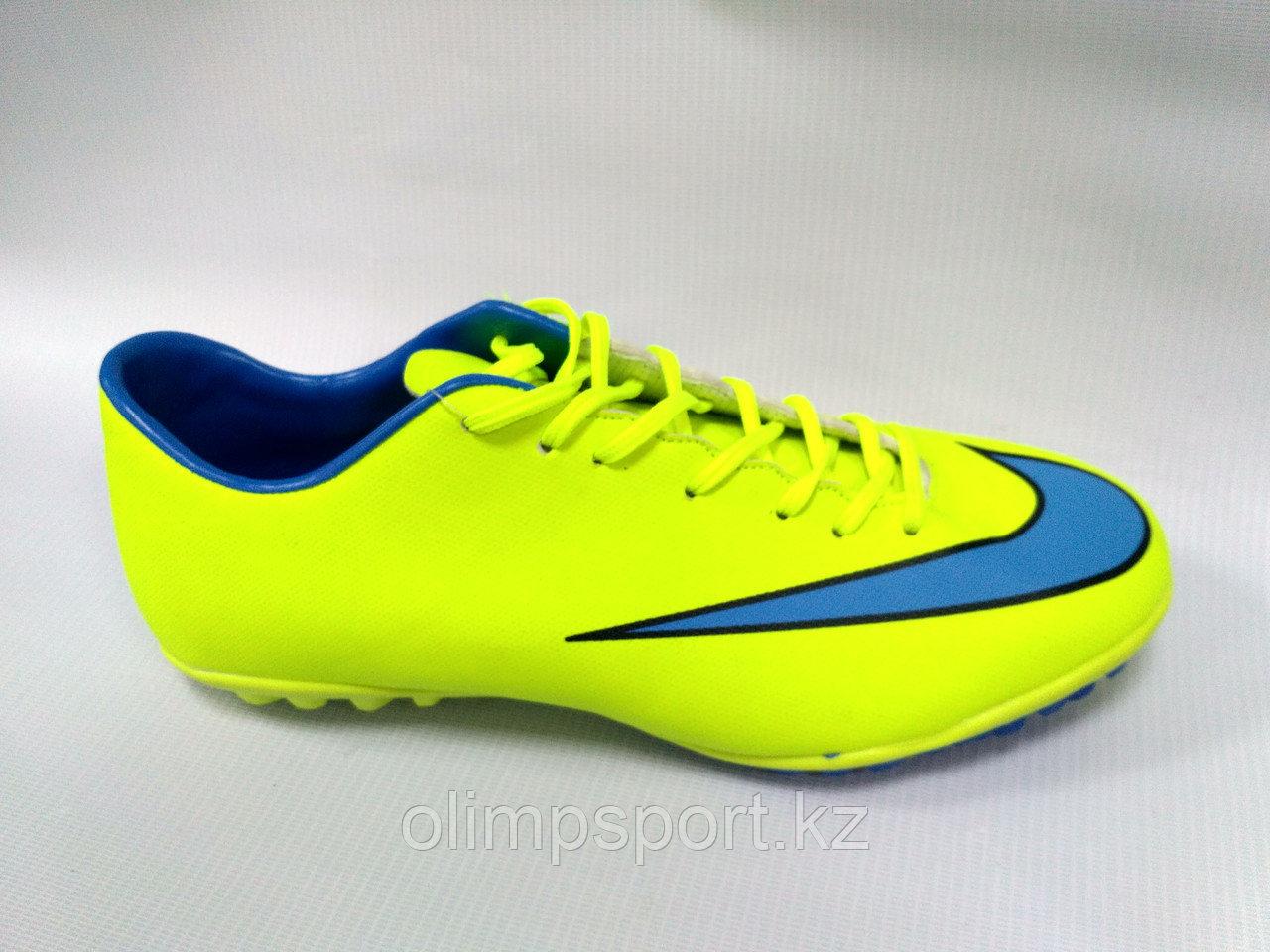 Обувь для футбола, шиповки, сороконожки  Nike Mercurial
