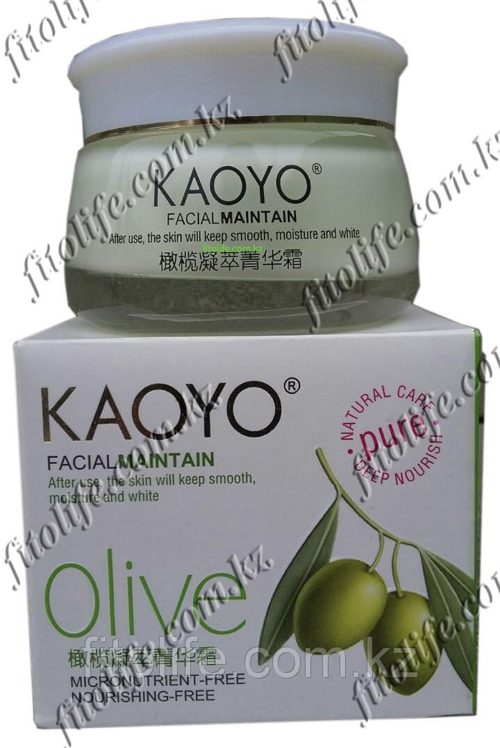Увлажняющий крем Kaoyo, с экстрактом оливок