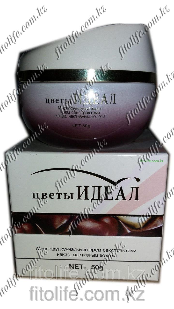 """Многофункциональный крем с эффектом какао """"Цветы идеал"""""""