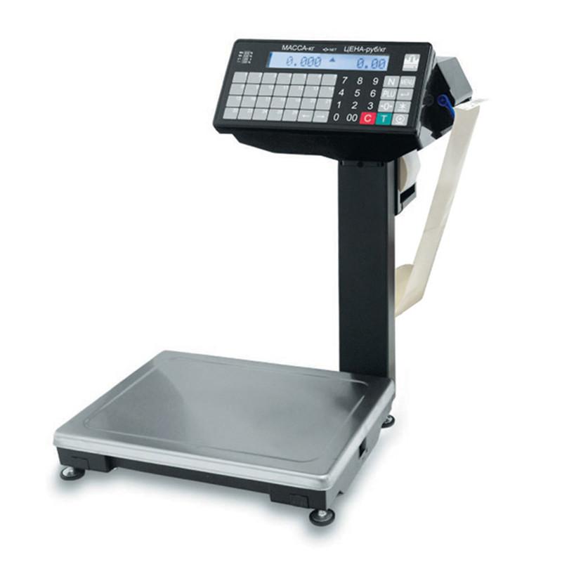 Весы с печатью этикеток Масса-К ВПМ-32.2-Ф1