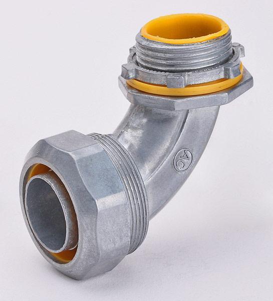 Муфты вводные для металлорукава в усиленной ПВХ изоляции ™Fortisflex