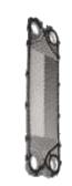 Пластины из нержавеющей стали для теплообменников сборных в комплекте с прокладкой Fiorini