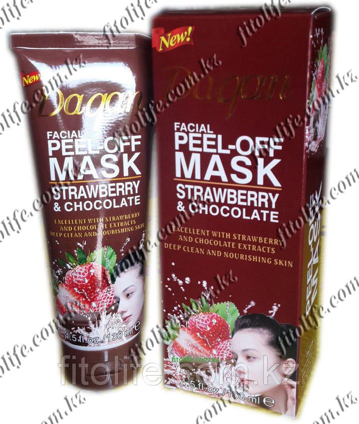 Peel-off Маска Daqan, клубника,шоколад