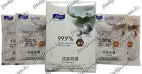 Маска для лица и шеи, морские водоросли с жемчугом
