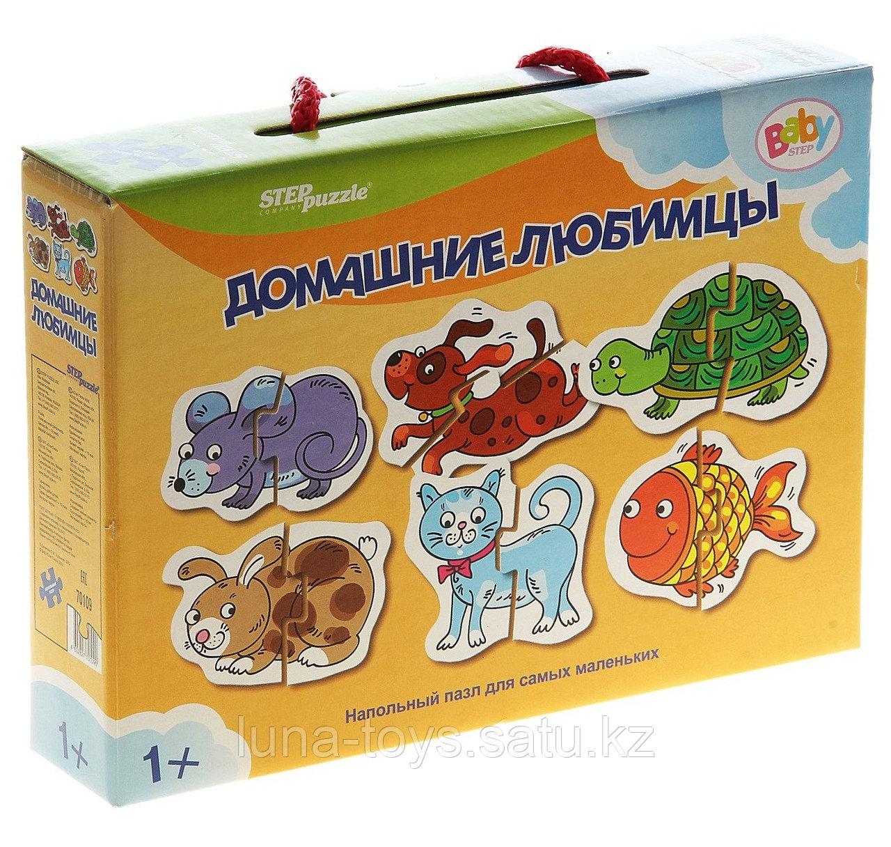 """Напольный пазл """"Домашние любимцы"""" 70109"""