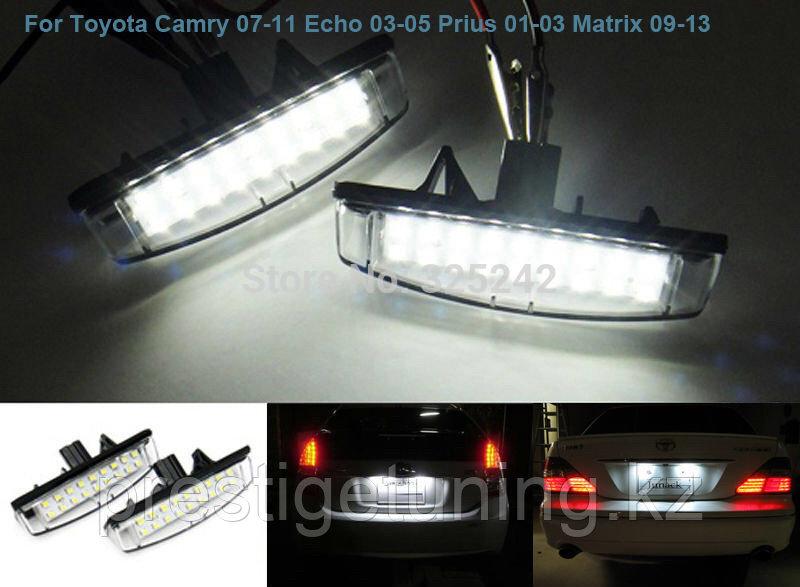 Лампа номерного знака на Toyota Camry V50/55 2012-16