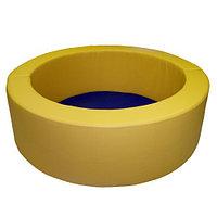 Сухой бассейн круглый разборный (мягкое дно).  Диаметр 1,5м