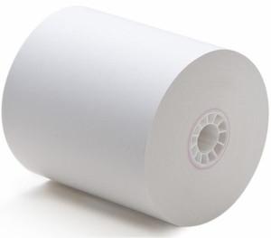 Чековая лента (термо) 80х80х18 для чековых принтеров, фискальных регистраторов