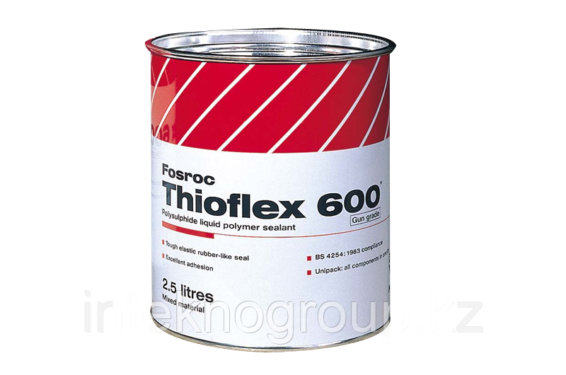 Fosroc, Thioflex 600 Grey Poly sulphide Sealant  2,5l
