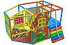 Детский игровой лабиринт Домик (3600х2400х2300 мм)