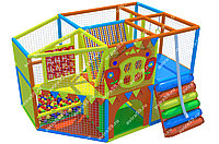 Детский игровой лабиринт Домик (3600х2400х2300 мм), фото 1