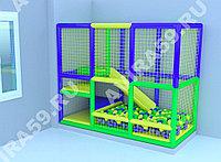 Детский игровой лабиринт Кубик (2800х1300х2300 мм), фото 1