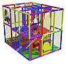 Детский игровой лабиринт Радужный лес ( 3000 х3000х2400 мм)