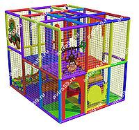 Детский игровой лабиринт Радужный лес ( 3000 х3000х2400 мм), фото 1
