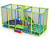 Детский игровой Лабиринт Кроха (5000х2000х2500 мм)