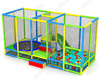 Детский игровой Лабиринт Кроха (5000х2000х2500 мм), фото 1