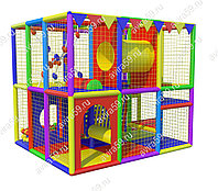 Детский игровой лабиринт Счастливчик (3000х2700х2400 мм), фото 1