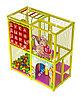 Детский игровой лабиринт Ангелочек ( 2000 х 1 300х2200 мм)