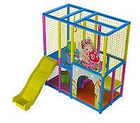 Детский игровой лабиринт Ангелочек с горкой (2000х1300х2200 мм), фото 1