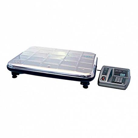 Весы электронные ВЭУ-60С-20-Д-У/80-87 (платформа 600х450 мм, нерж., с выносным табло, до 60 кг)