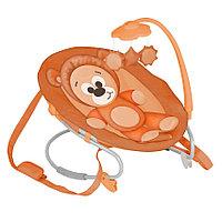 Шезлонг качалка Bertoni (Lorelli) Lorelli Joy Оранжевый / Orange Bear 1341