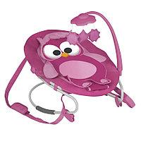 Шезлонг качалка Bertoni (Lorelli) Lorelli Joy Розовый / Pink Owl 1322
