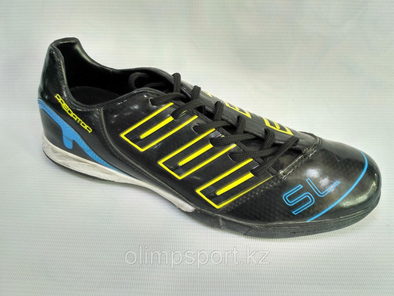 Обувь для футбола, сороконожки Adidas Predator Sl, черные
