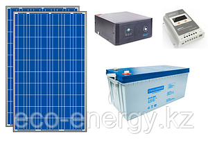 Автономная солнечная станция 1 кВт*ч в сутки (0.2 кВт в час) 12 В